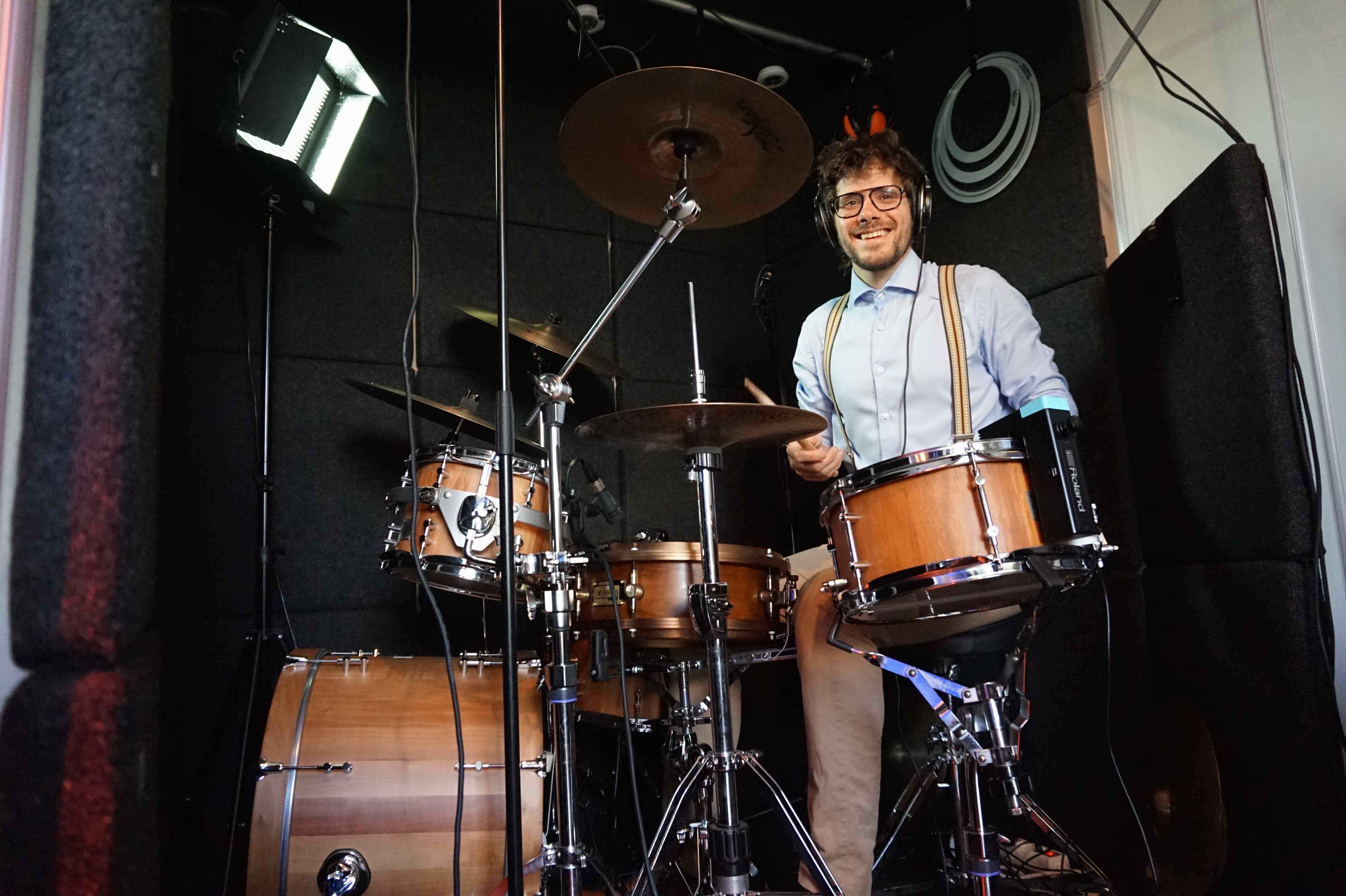 drummer voor studiowerk