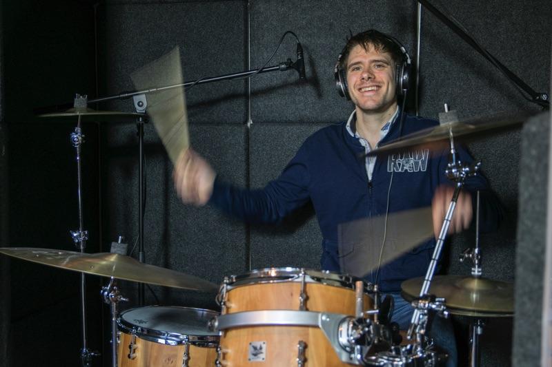 Axel Grunnekemeijer, drumdocent