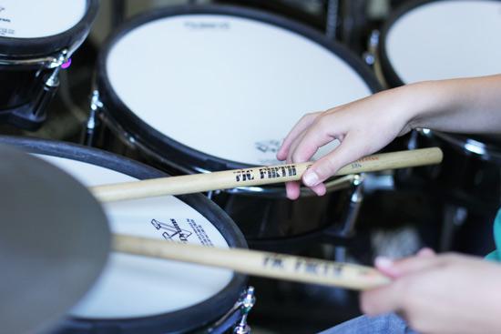 Drumles voor kinderen